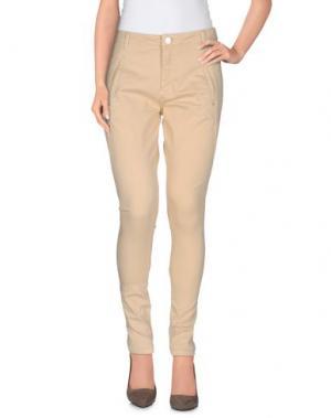 Повседневные брюки FIVEUNITS. Цвет: бежевый