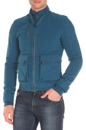 Куртка GF FERRE. Цвет: синий
