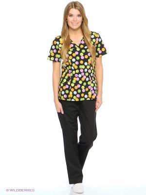 Блузка Med Fashion Lab. Цвет: черный