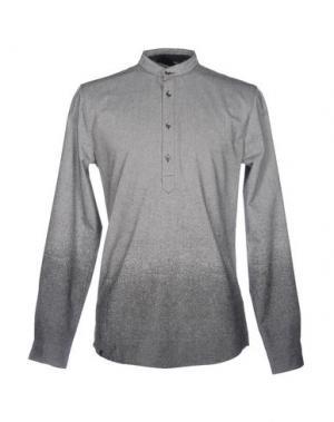 Pубашка ANERKJENDT. Цвет: светло-серый
