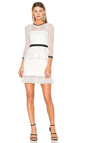Платье duchess Three Floor. Цвет: белый