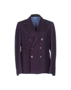 Пиджак JOHN SHEEP. Цвет: баклажанный