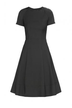 Платье из вискозы 182606 Paola Morena. Цвет: черный