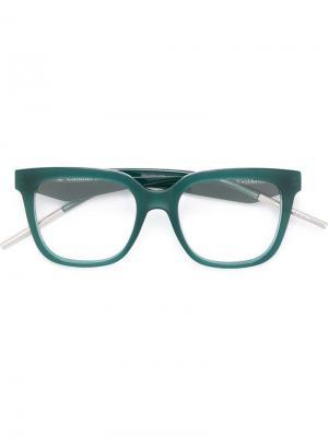 Очки Very Dior 10 Eyewear. Цвет: зелёный