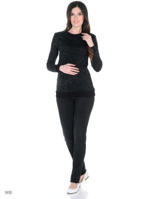 Джинсы EUROMAMA. Цвет: черный