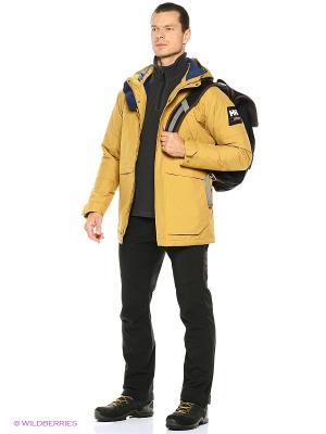 Куртка Helly Hansen. Цвет: горчичный, светло-коричневый