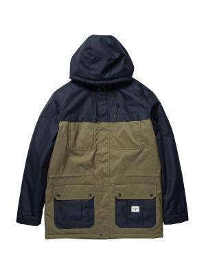 Куртка ALVES CONTRAST JACKE BILLABONG. Цвет: темно-синий