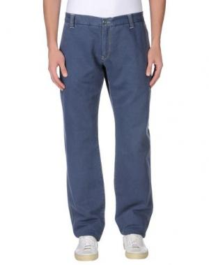 Повседневные брюки MURPHY & NYE. Цвет: грифельно-синий