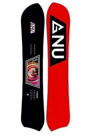Сноуборд  Zoid Reg Ass Dec Ast GNU. Цвет: черный,красный