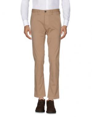 Повседневные брюки MESSAGERIE. Цвет: песочный