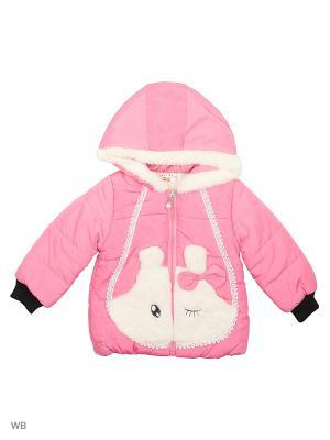 Куртка Happy Bear. Цвет: розовый