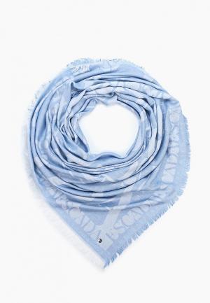 Платок Escada Sport. Цвет: голубой