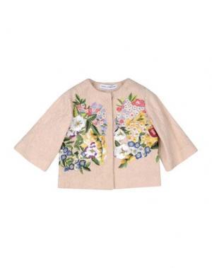 Пиджак DOLCE & GABBANA. Цвет: песочный