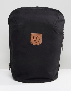 Fjallraven Черный рюкзак объемом 15 литров Kiruna. Цвет: черный