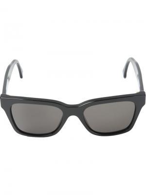 Солнцезащитные очки América Retrosuperfuture. Цвет: чёрный