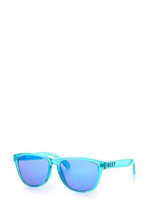 Очки солнцезащитные Roxy. Цвет: бирюзовый