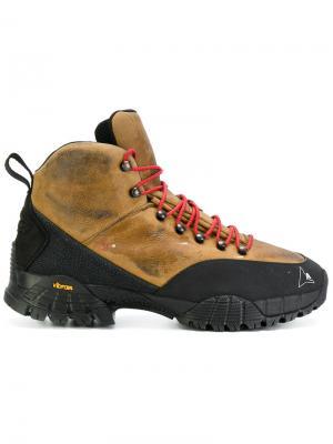 Кроссовки со шнуровкой Alyx. Цвет: коричневый