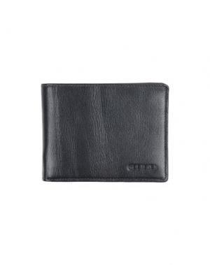 Бумажник GIUDI. Цвет: свинцово-серый