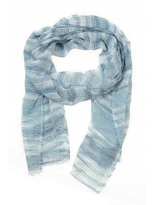 Платок Migura. Цвет: белый, синий