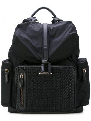 Рюкзак с плетеной панелью Ermenegildo Zegna C1282PDPTNER12332308
