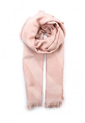 Палантин Furla. Цвет: розовый