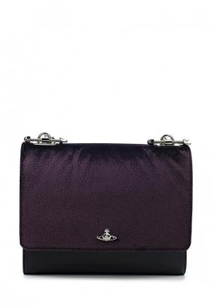 Сумка Vivienne Westwood. Цвет: фиолетовый