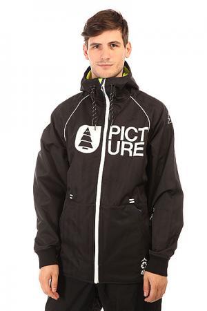 Куртка утепленная  Wind Black Picture Organic. Цвет: черный