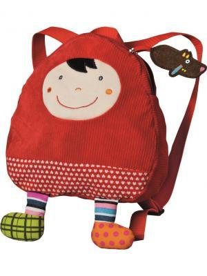 Рюкзачок Красная Шапочка Ebulobo. Цвет: молочный, красный