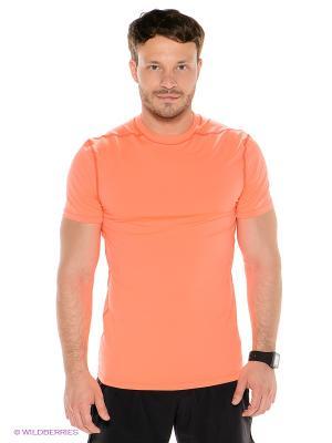 Футболка Thermowave. Цвет: оранжевый