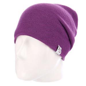 Шапка  Beanie 99 Violet Footwork. Цвет: фиолетовый
