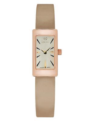 Часы ювелирные коллекция Q-City, QWILL, Часовой завод Ника QWILL. Цвет: золотистый