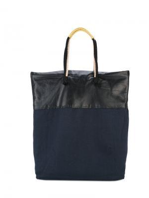 Большая сумка-тоут Forte. Цвет: чёрный