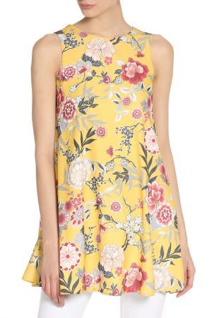 Платье-туника с цветочным принтом GIRLS ON FILM. Цвет: multi