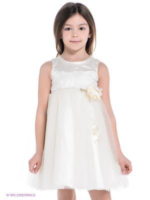 Платье Baby Rose. Цвет: бежевый