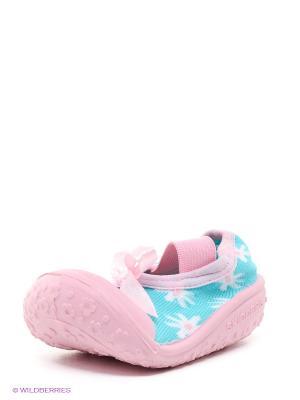 Пинетки SKIDDERS. Цвет: голубой, бледно-розовый