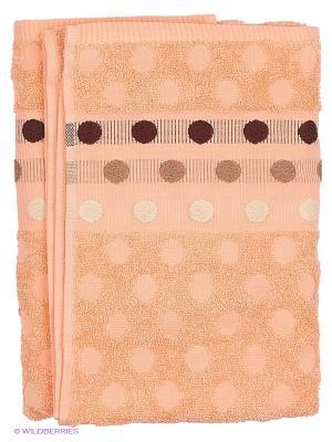 Полотенце 50х90 Танаис. Цвет: оранжевый