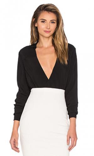 Рубашка с длинными рукавами the catherine TY-LR. Цвет: черный