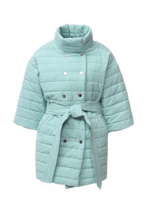 Куртка утепленная Tutto Bene. Цвет: мятный