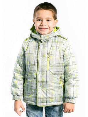 Куртка Матвей Аксарт. Цвет: салатовый