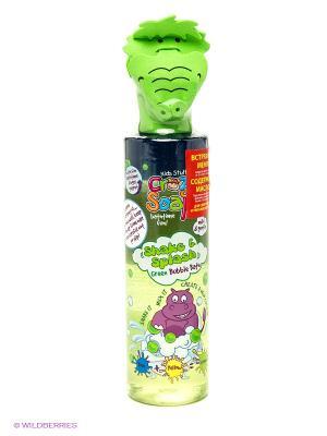 Пена для ванны развивающая Встряхни и смешай цвета Kids Stuff. Цвет: зеленый