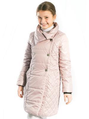 Пальто Моника Аксарт. Цвет: светло-бежевый