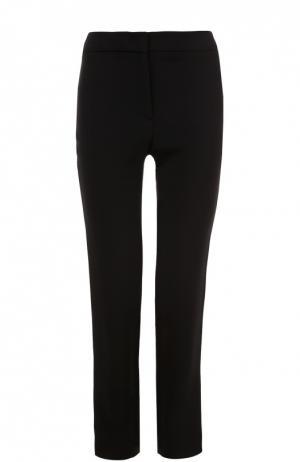 Укороченные брюки прямого кроя Burberry. Цвет: черный