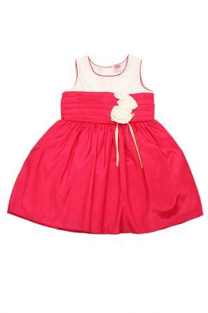 Платье Yo-Lin. Цвет: малиново-белый