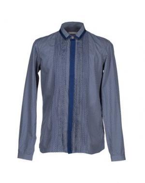 Pубашка RICHARD NICOLL. Цвет: темно-синий