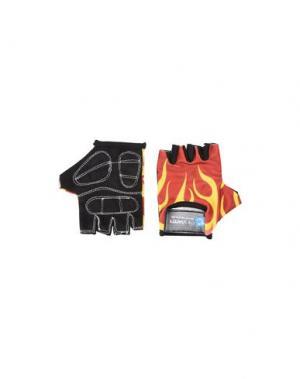 Перчатки CRAZY SAFETY. Цвет: ржаво-коричневый