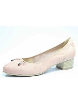 Туфли Caprice. Цвет: розовый