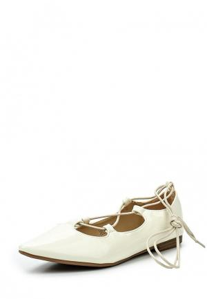 Туфли Catisa. Цвет: белый