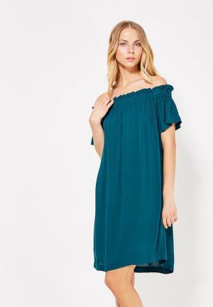 Платье Medicine. Цвет: зеленый