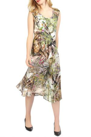 Платье Apanage. Цвет: коричневый