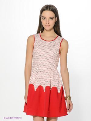 Платье Ya Los Angeles. Цвет: красный